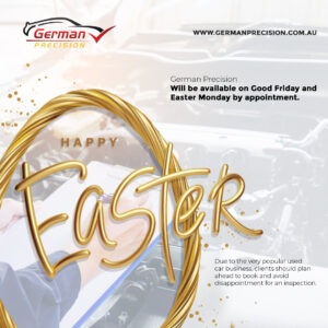 Happy Easter 2021 from German Precision. Stay safe and take care!