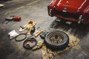A maintenance for used car